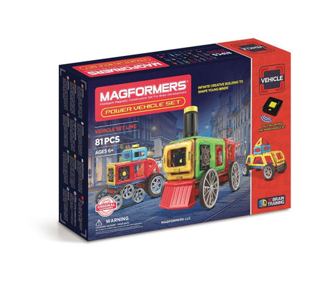 MAGFORMERS Power Vehicle Set (86 Piece)