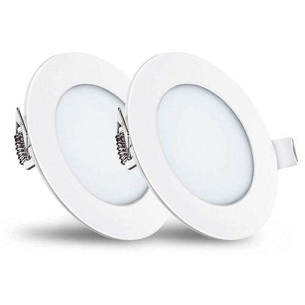 Pack of 2 Dimmable Ultra-Thin LED Ceiling Lights