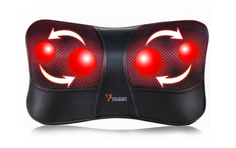Shoulder and back massage pillow