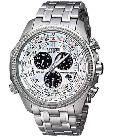 Citizen Men's Eco-Drive Stainless Steel Sport Watch