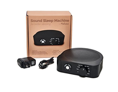 White noise sound machine with timer