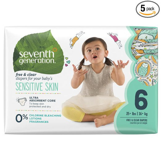 50% off Seventh Generation Baby Diapers