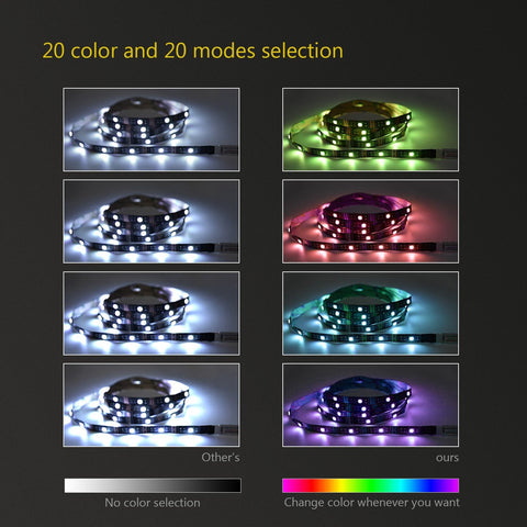 60 LED light strip