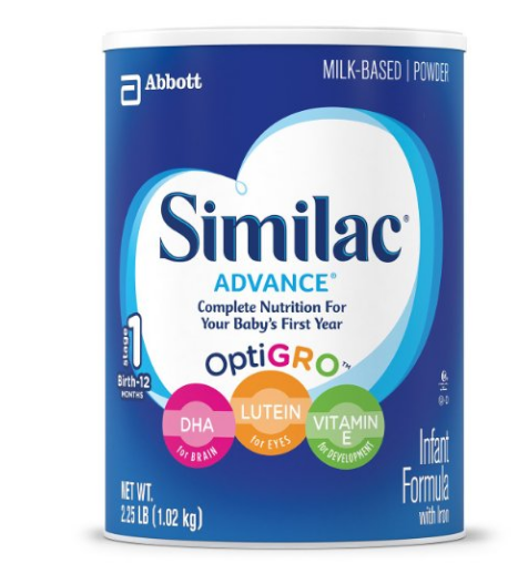 Pack of 3 Similac Advance Infant Formula with Iron