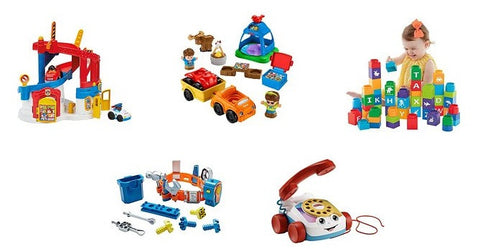 Spend $40 save $10 on Fisher-Price toys