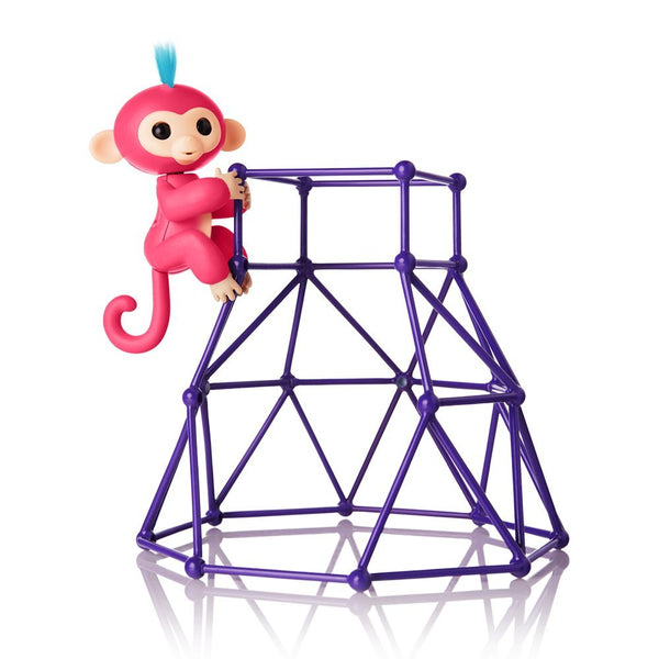 Fingerlings - Jungle Gym Playset + Interactive Baby Monkey Aimee