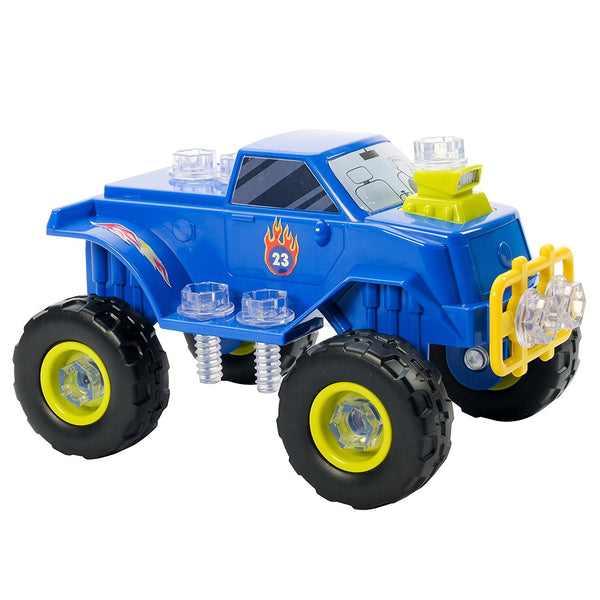 Design & Drill Power Play Vehicles Monster Truck
