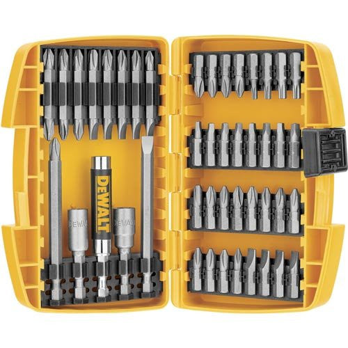 Dewalt 45-piece screwdriving set with tough case