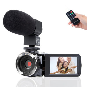 1080P Camcorder With Microphone