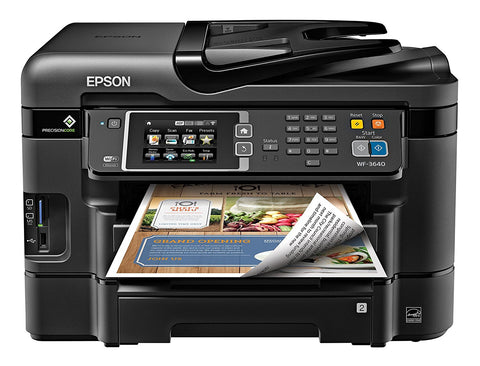 Epson Wireless Color All-in-One Inkjet Printer with Scanner and Copier