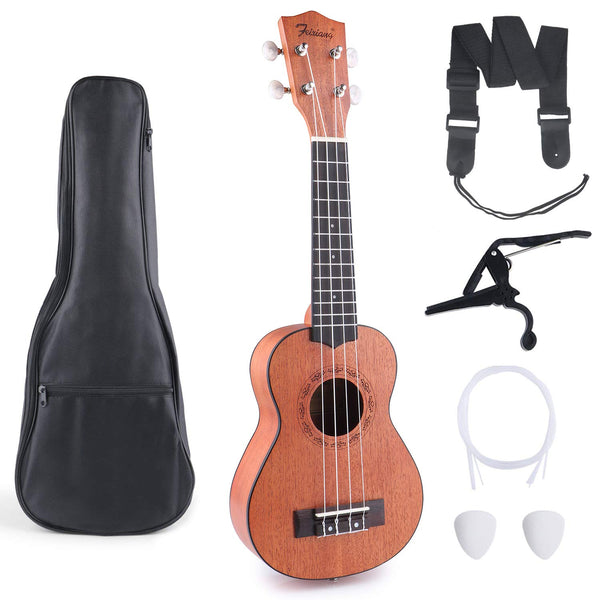 Mahogany Wooden Ukulele For Beginners