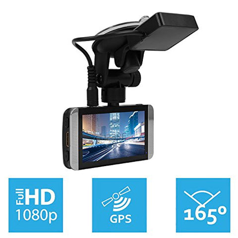 KDLINKS X1 GPS Enabled Full HD With Dash Cam
