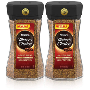 Pack Of 2 Nescafe Taster's Choice House Blend Instant Coffee
