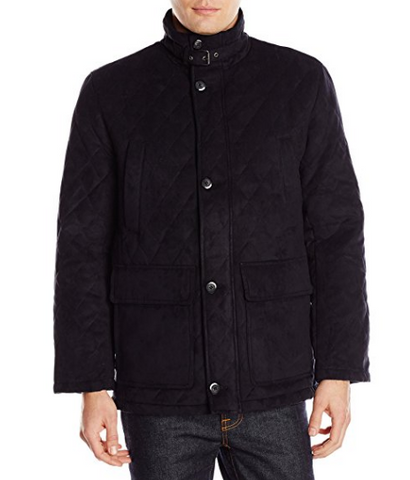 London Fog diamond quilted coats