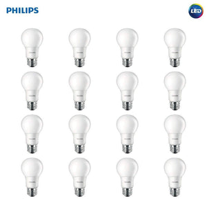 16 Philips LED Non-Dimmable Bulbs