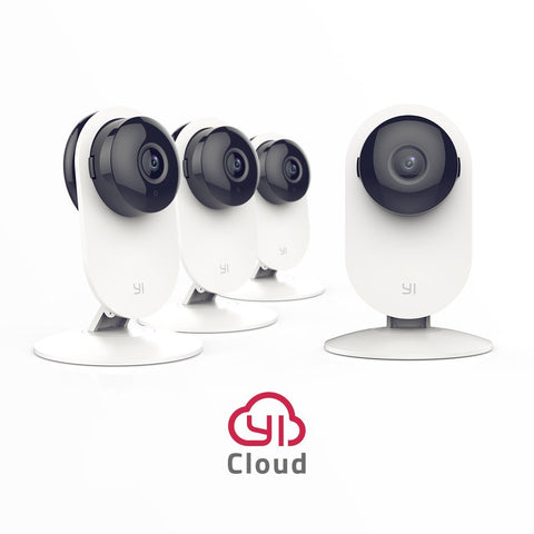 Pack of 4 Yi Home 720p Wireless IP Cameras