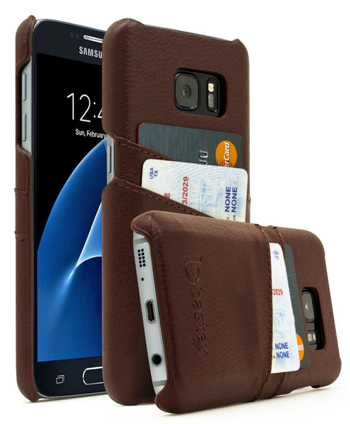 Galaxy S7 Leather wallet Case