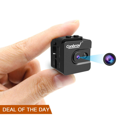 Night vision hidden spy nanny camera
