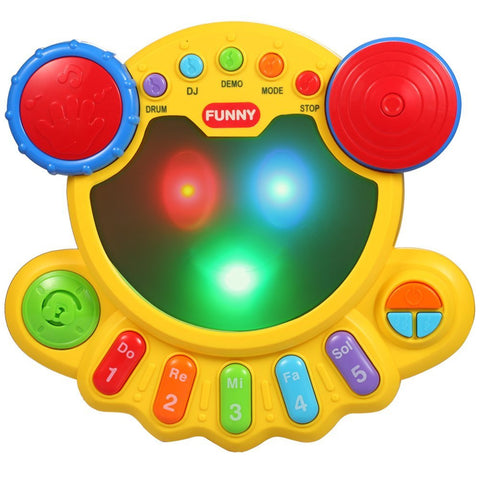 Musical toy with many interesting sound effects