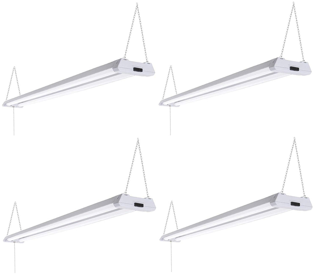Triglow 40w led 4 foot linkable shop lights pack of 4