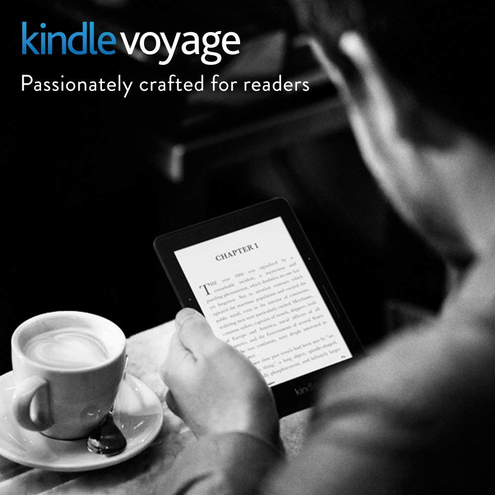 Certified Refurbished Kindle Voyage E-reader with Special Offers, Wi-Fi