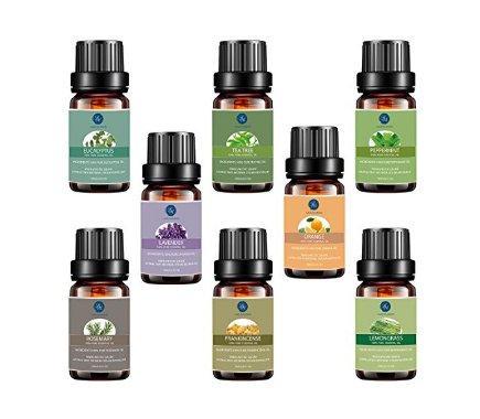 Top 8 Essential Oils Set