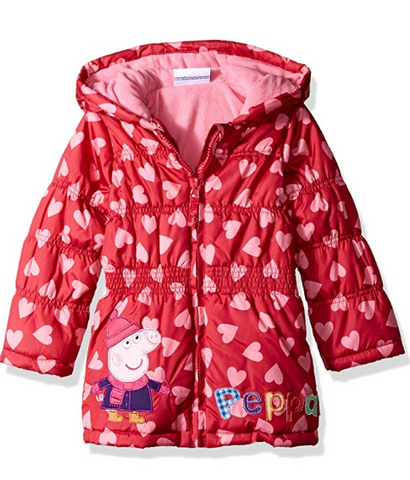 Toddler girls puffer coat - size 2T