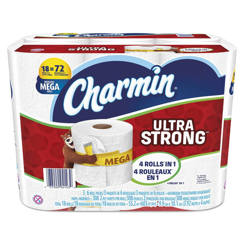 Pack of 18 Charmin toilet paper
