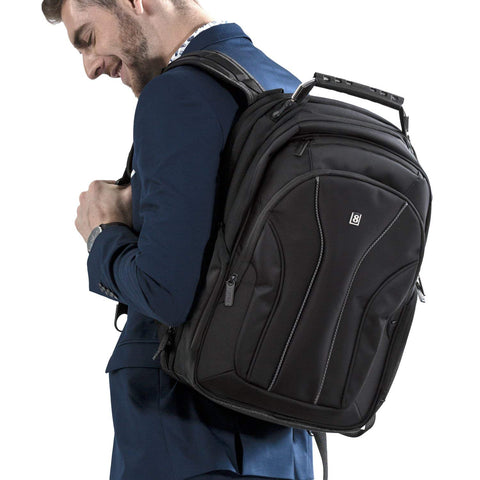 Laptop Backpack, LEVEL 8 Business Backpack fits 15.6 Inch laptop/notebook Computer Backpack