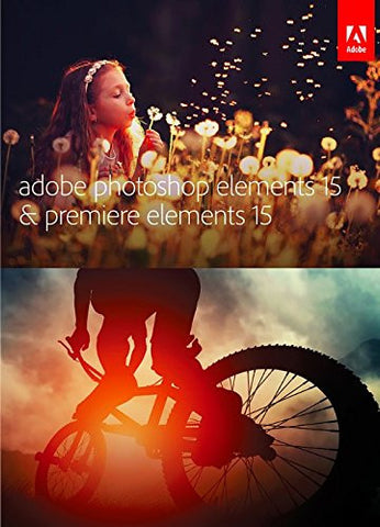 Adobe Photoshop Elements 15 & Premiere Elements 15 Software