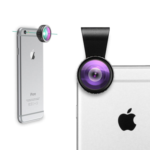 Clip-on Cell Phone Camera Lenses Kit