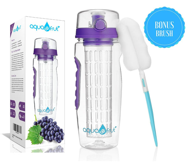 Fruit Infuser Water Bottle - 8 colors
