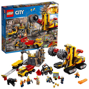 LEGO City Mining Experts Site Building Kit (883 Piece)
