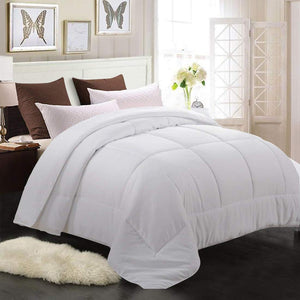 Reversible Duvet Quilted Down Alternative Comforter (3 Colors)