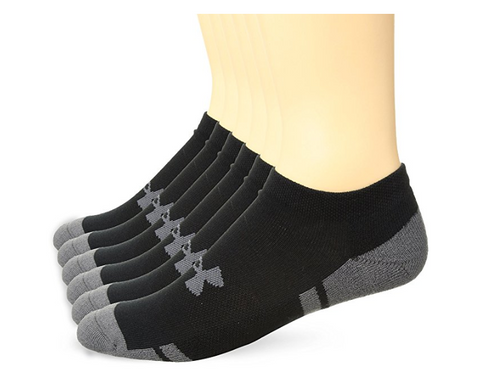 Under Armour Men's Resistor 3.0 No Show Socks