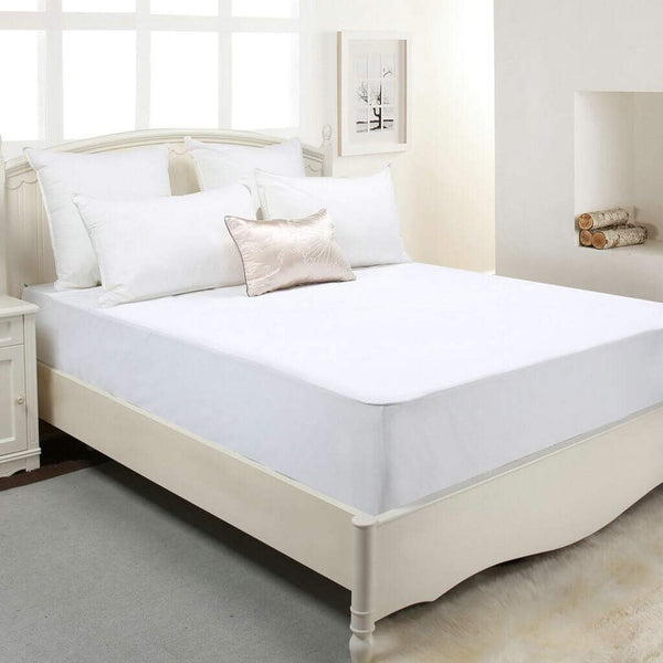 Premium Waterproof Bamboo Mattress Protector