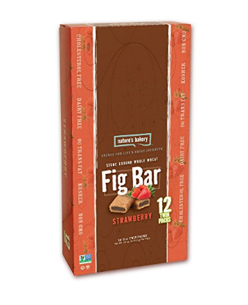 Pack of 12 Nature's Bakery whole wheat fig bars