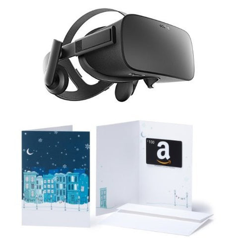 Oculus Rift +$100 Amazon Gift Card