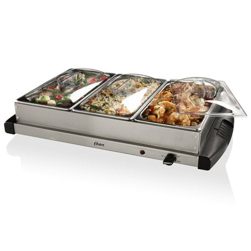 Oster stainless steel buffet server