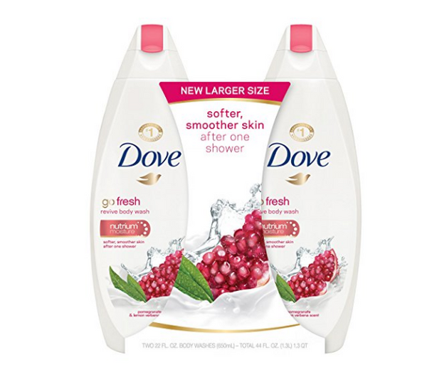 Pack of 2 Dove go fresh Body Wash
