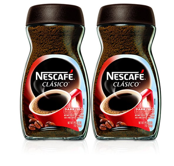 Pack of 2 Nescafe Instant Coffee,7 Ounce