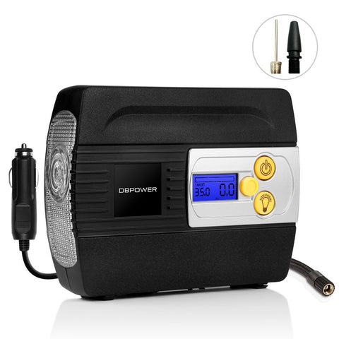 Digital tire inflator - air compressor