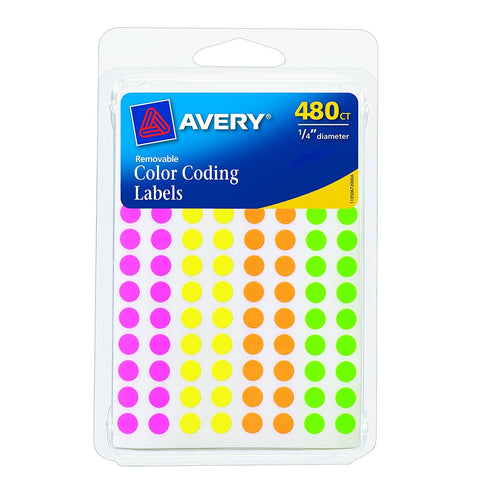 Pack of 480 Avery lables