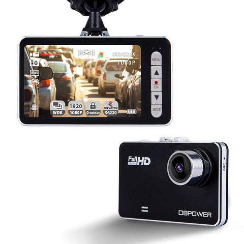 Dash cam with motion detector