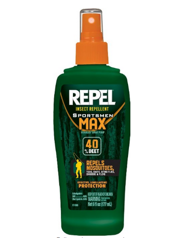 Repel Sportsmen max insect repellent spray