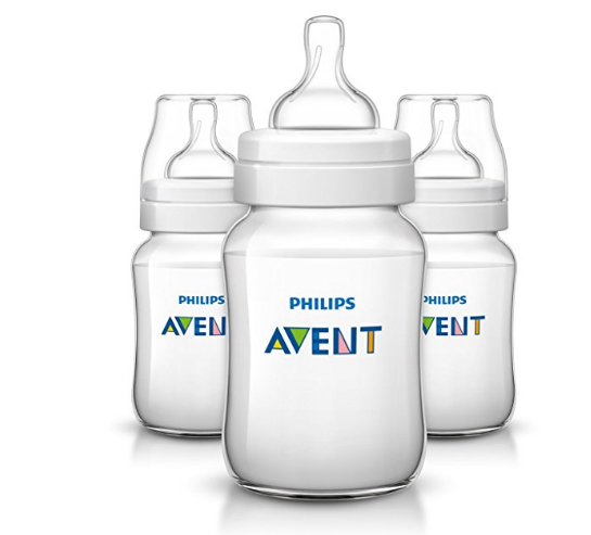 Pack of 3 Philips Avent Anti-colic Baby Bottles