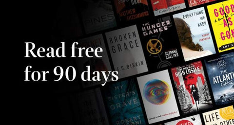 90-Day Kindle Unlimited Membership Free