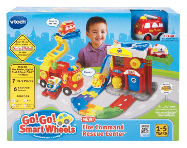 Smart Wheels Fire Command Rescue Center Playset