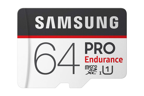 Samsung PRO Endurance 64GB Micro SDXC Card with Adapter