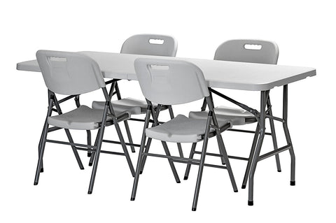 Pack of 4 Sandusky folding chairs